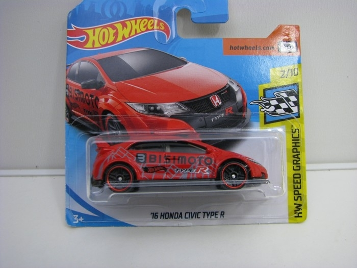Honda Civic Type R Hot Wheels Speed Graphics-2018